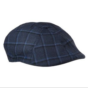Kangol Cabbie/Newsboy Kirby Plaid Cap/Hat Size XL